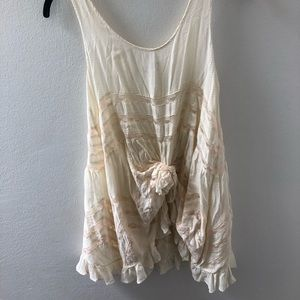 "Free People ""trapeze"" slip dress"